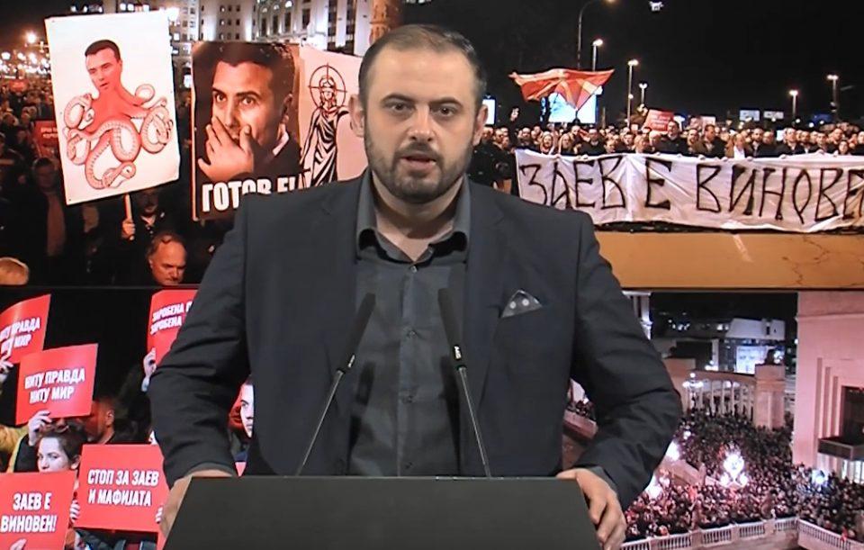 Ѓорѓиевски: Правдоубиецот Заев конечно е на колена, ако не е достоинствен во владеењето, барем нека биде во заминувањето