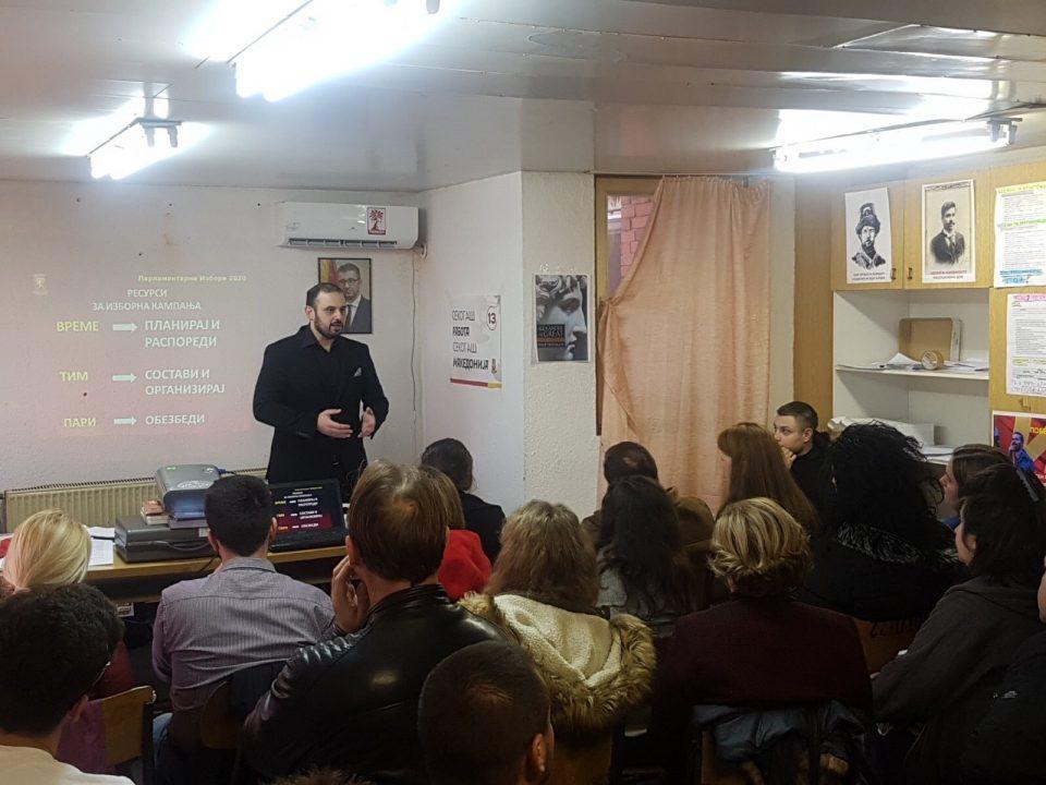 Ѓорѓиевски на трибина во Кавадарци: Тиквешкиот регион е спремен за победа