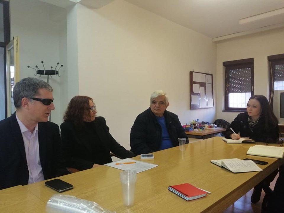 Мизрахи на средба со претставници на здруженија со инвалидитет: За овие лица потребен е бенефициран стаж, бидејќи инвалидитетот го зема данокот со годините