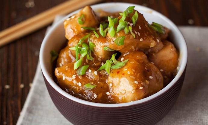 Пилешко во соја и мед, готово за 15 минути