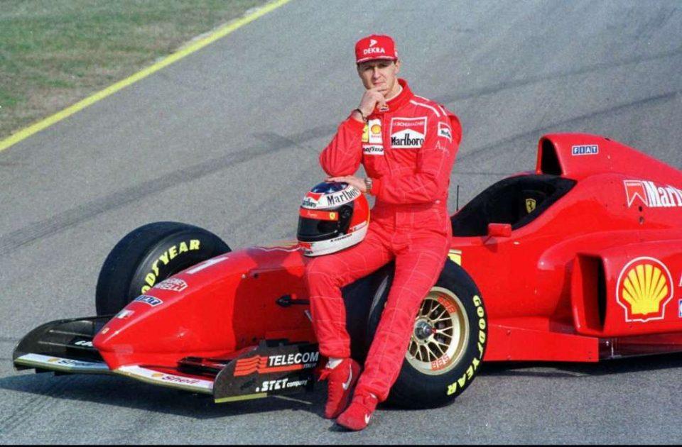 Првиот Ферари на Шумахер ставен на аукција