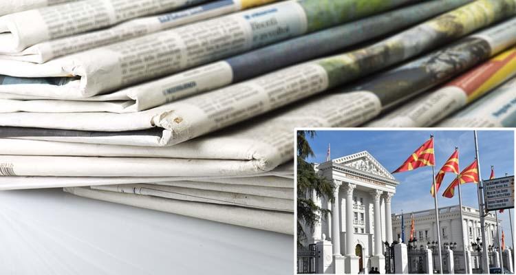 """Владата ќе """"поарчи"""" 20 илјади евра за да се фали во дневните весници"""