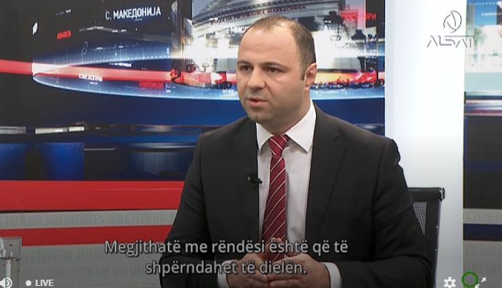 Мисајловски: Целта на СДСМ со овој закон за ЈО е да се спасат од кривична одговорност