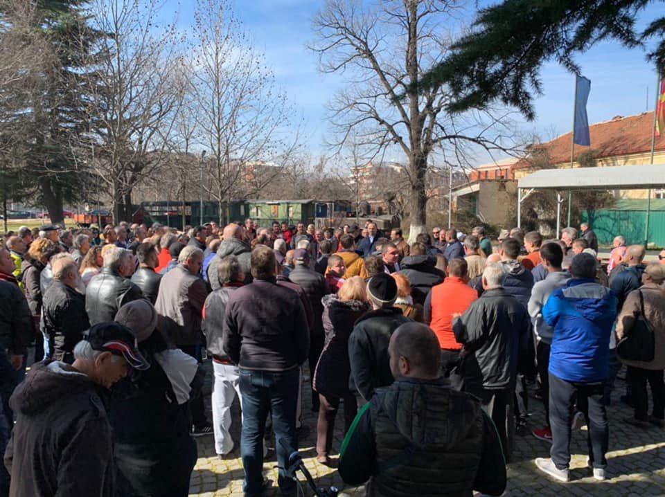 Мисајловски помеѓу граѓаните во Ѓорче Петров: Ѓорчепетровци се горд народ кој си ја сака државата повеќе од се, време е за обнова