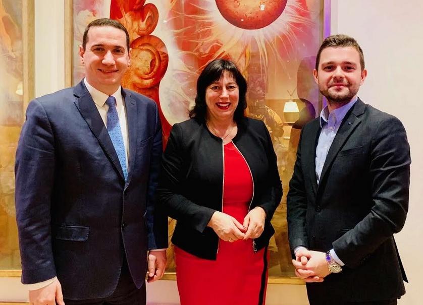Ѓорчев и Муцунски се сретнаа со Европратеничката Валсман