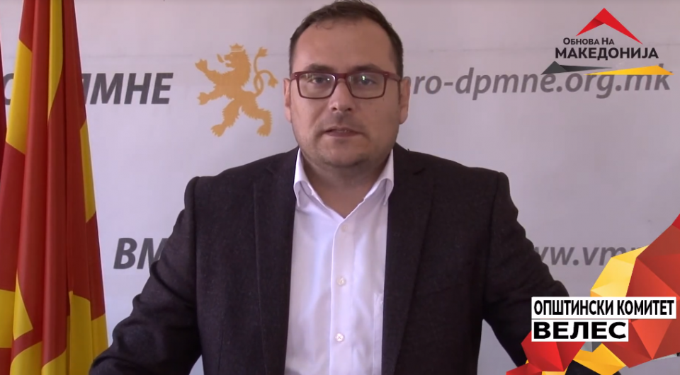 Здравковски: ВМРО гради и покажува со дела, а СДСМ дава празни ветувања кои речиси никогаш не се исполнети