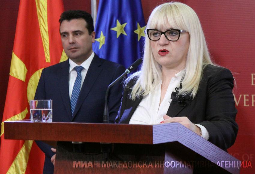 Николовска до Дескоска: На крај на мандатот признавате дека оваа власт воведе хибриден режим без правда, со поткупи и рекетирања, со амнестии и ослободување на криминалци