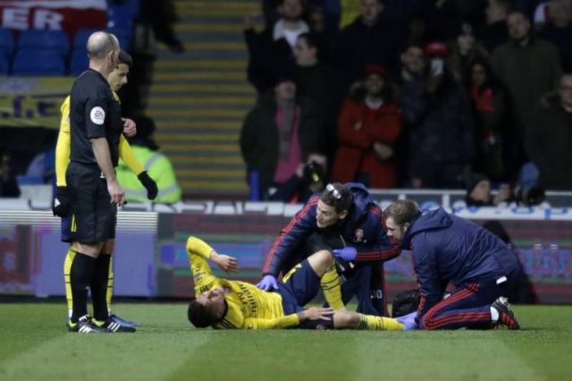 Заврши сезоната за ѕвезда на Арсенал поради тешка повреда