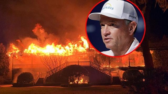 Американски голфер во очај: Пожар му ја изгоре до темел вилата од 4,5 милиони долари!