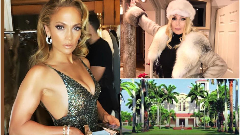 (Видео) Џеј Ло заинтересирана за луксузната вила на Лепа Брена во Мајами