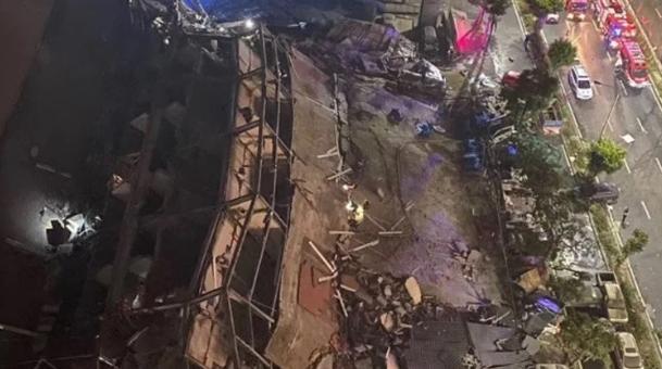 Најмалку 6 лица загинаа: Се урна хотел кој служел како карантин за болни од коронавирусот, сопственикот приведен