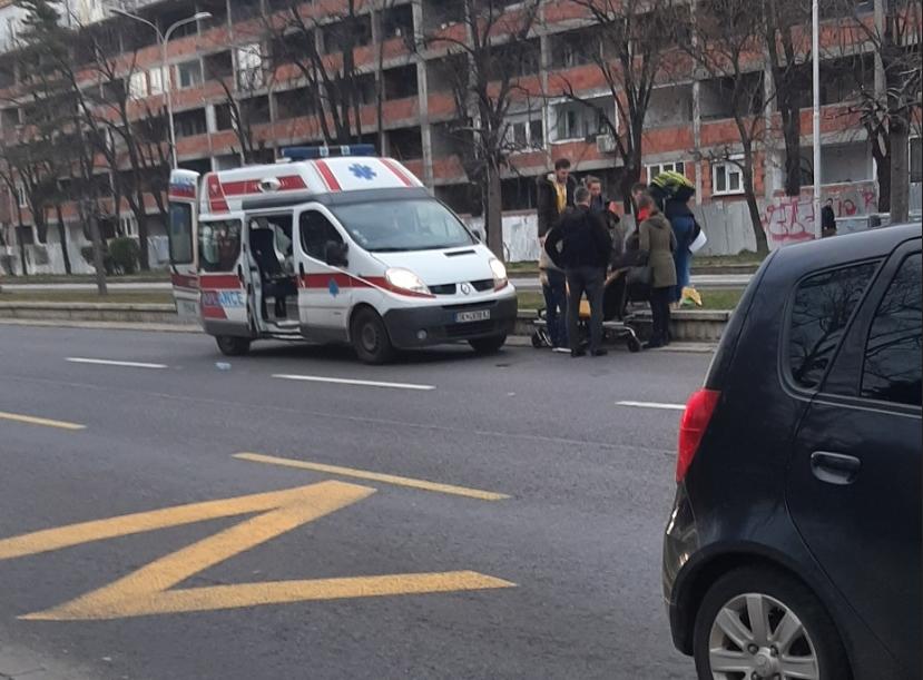 ФОТО: Прегазен човек кај Симпо, возачот избегал