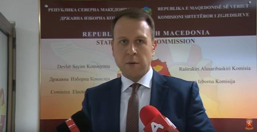 Јанушев: Ги поднесовме кандидатските листи на ВМРО-ДПМНЕ со кои што ќе издвојуваме победа на 12-ти април