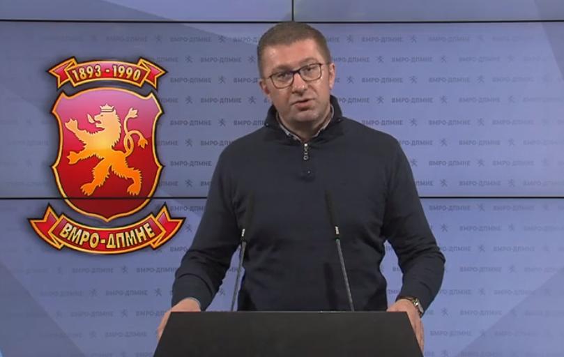 Мицкоски: Пакетот на Владата е недоволен и задоцнет, имам сериозна загриженост дека не чека тешка економска криза