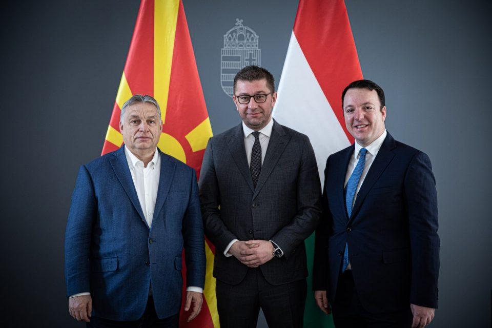 Мицкоски на средба со Орбан: Македонија да не биде заложник на криминалната власт на Заев, барам датум за преговори, ветувам сериозен план за реформи по изборите