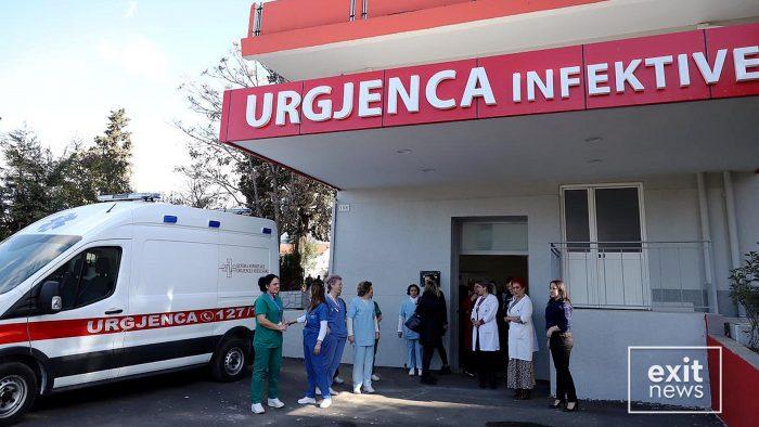 Рекордни 289 новозаразени со Ковид-19 во Албанија