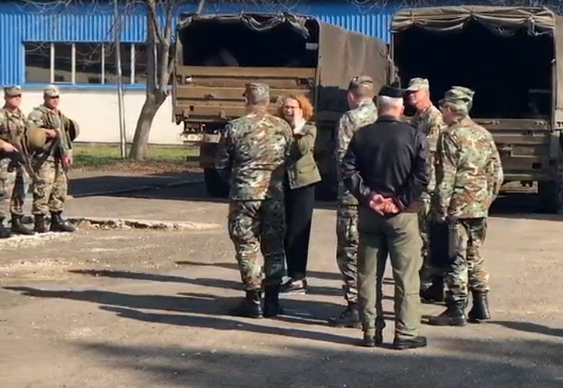 Припадници на Армијата ангажирани во Дебар и Центар Жупа