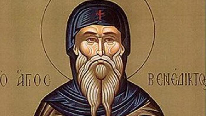 Денеска е Преподобен Бенедикт Нурсиски- изградил црква во Италија посветена на Св. Јован Крстител