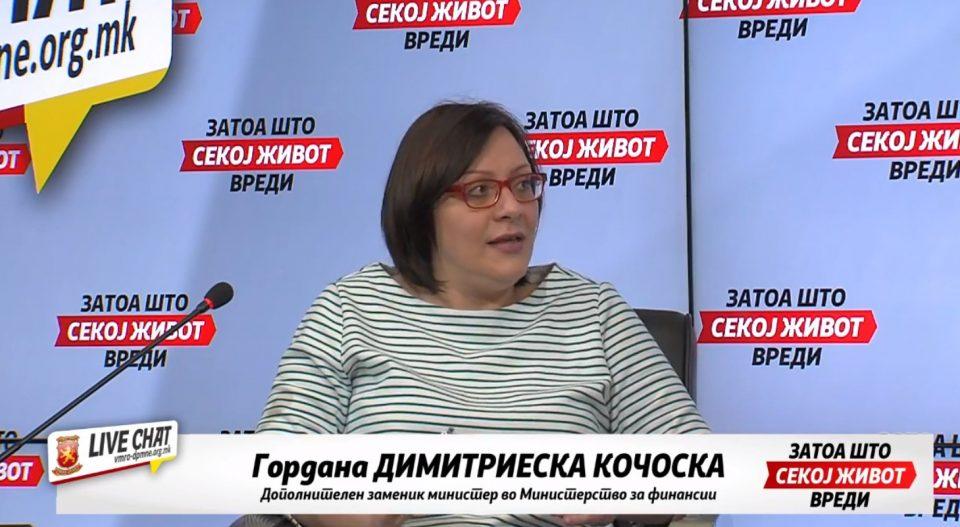 Димитриеска Кочоска: Власта требаше порано да реагира и да ги спроведе мерките, стабилноста на економија зависи од тоа колку ќе трае кризата во Македонија