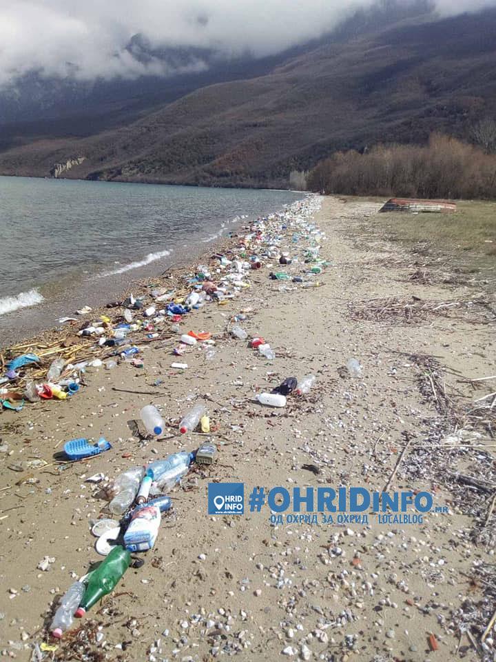 ФОТО: Шокантни фотографии од брегот на Охридско Езеро