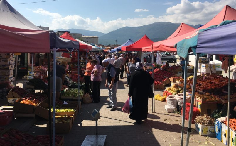 Големиот градски пазар во Гостивар ќе биде затворен наредниве 30 денови