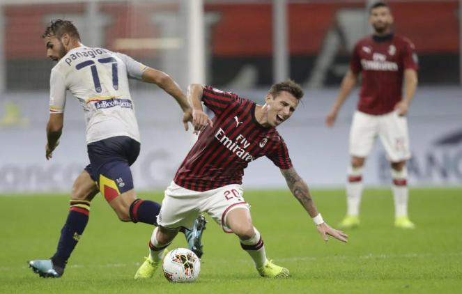 Фудбалерот на Милан: Дојдовме до колапс, ова вака не бидува
