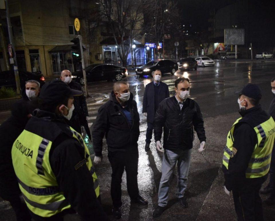 Чулев во посета на полициските службеници во Куманово