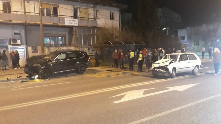 Очевидци на социјалните мрежи сведочат за страшната сообраќајка во Ѓорче Петров