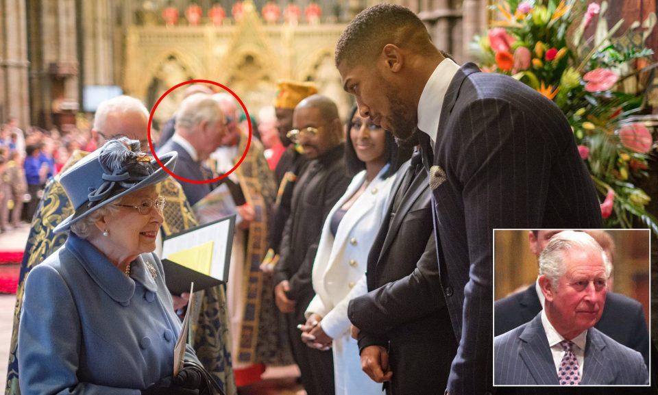 Ентони Џошуа во самоизолација бидејќи се сретна со принцот Чарлс