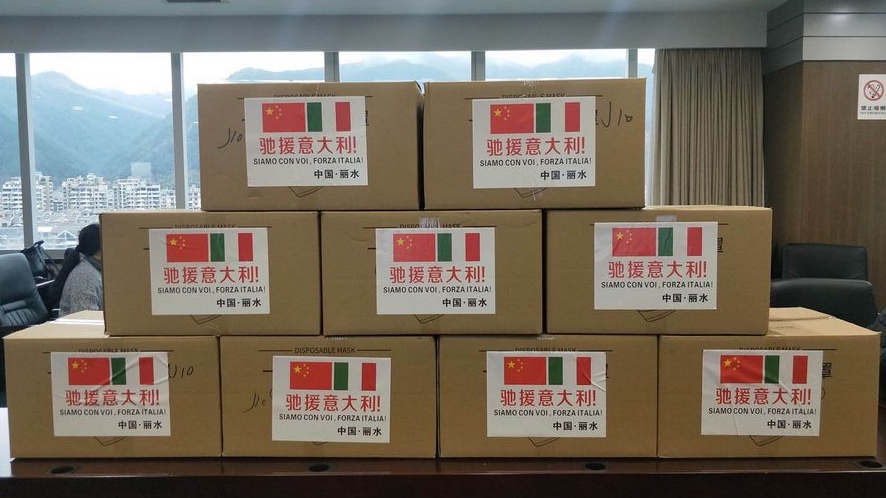ФОТО+ВИДЕО: Кина испрати медицинска помош за Италија