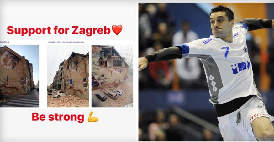 ФОТО: Лазаров не заборави на Загреб и испрати зборови за поддршка по земјотресот