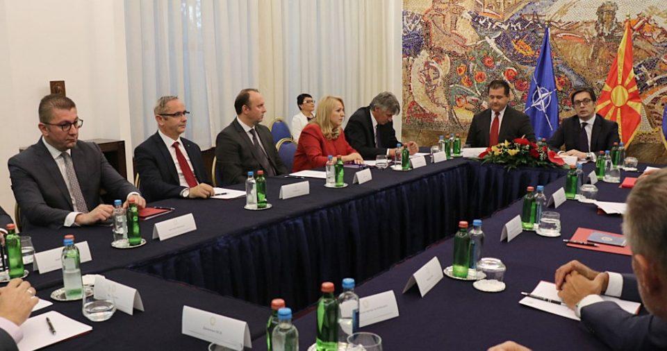 Лидерската средба кај Пендаровски ќе се одржи на 12 мај