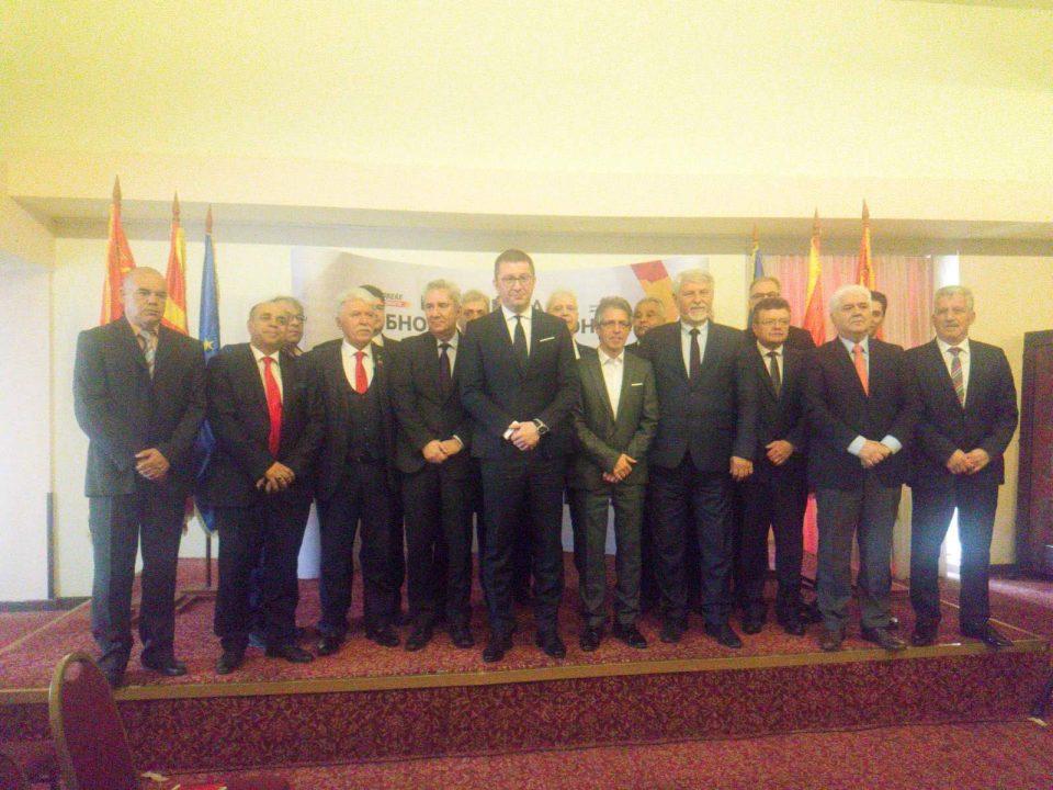 """ВМРО-ДПМНЕ ја проширува коалицијата- ова се новите коалициони партнери за """"Обнова на Македонија"""""""