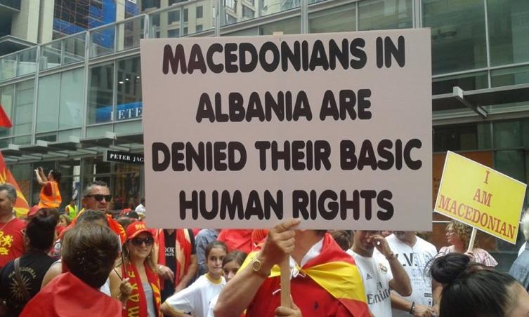Македонско друштво Илинден: Во Албанија не живеат Бугари, Македонците не се Бугари