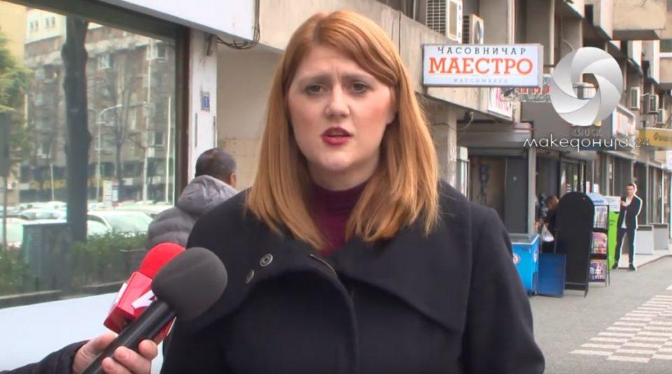 Стаменковска Стојковски: Не запираат притисоците и заканите врз вработените во јавниот сектор!