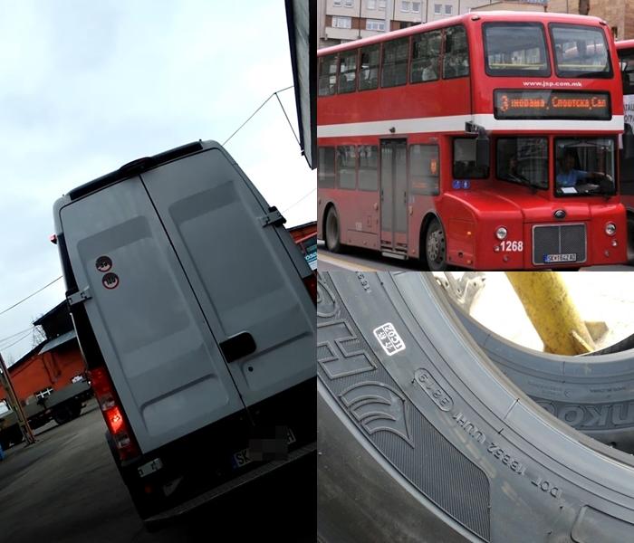 СКАНДАЛ: ЈСП во декември набавило гуми за автобусите без тендер и истиот распишан два месеци подоцна! (ФОТО+ВИДЕО)