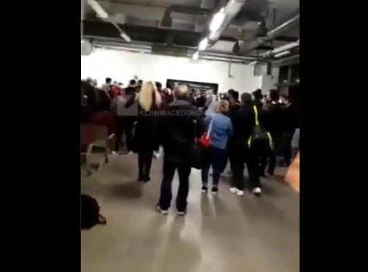 ВИДЕО: Слетаа патниците од Брисел на аеродромот во Скопје