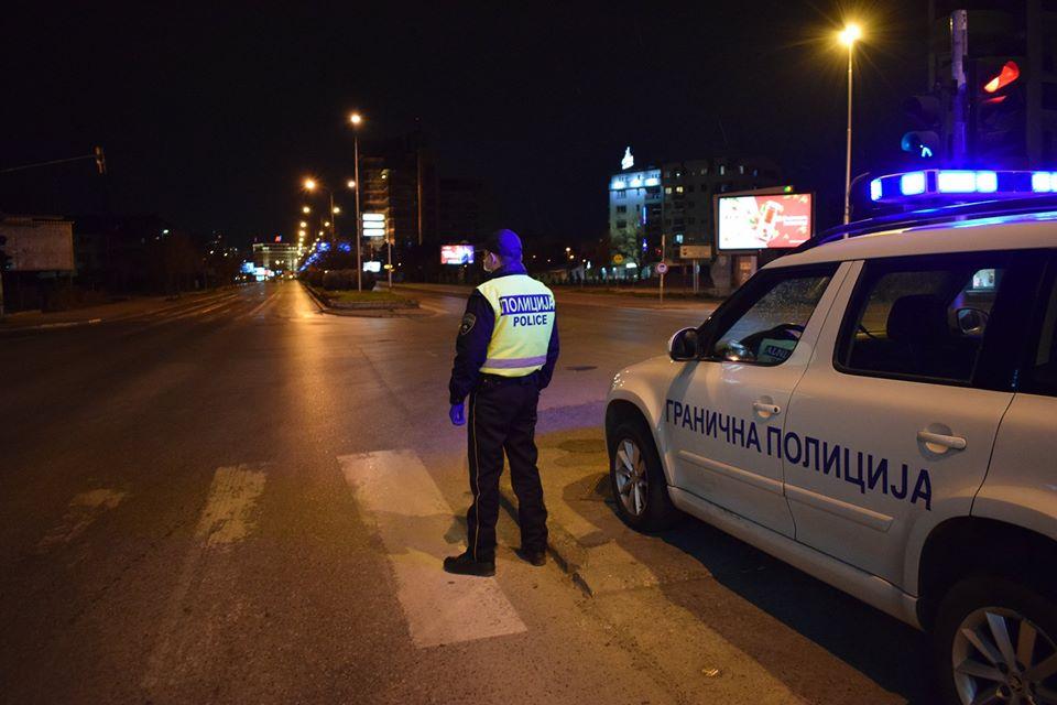 Четири лица управувале возила за време на полицискиот час во Радовиш