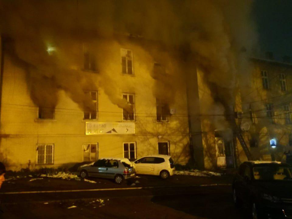 Пожар во ТВ ВИС, Струмица