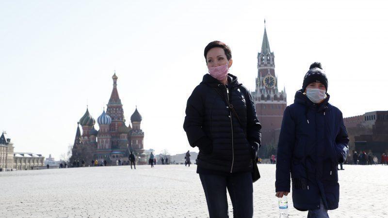 Повеќе од 250.000 од жителите на Москва се заразени со коронавирус