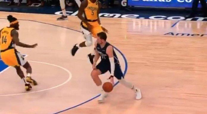 ВИДО: Инцидент во НБА, Дончиќ доби колено во лице