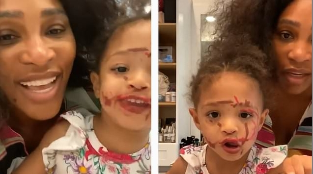Серена се бори со анксиозност поради коронавирусот: Кога се смири, нејзината ќерка стана хит на Интернет (ВИДЕО)