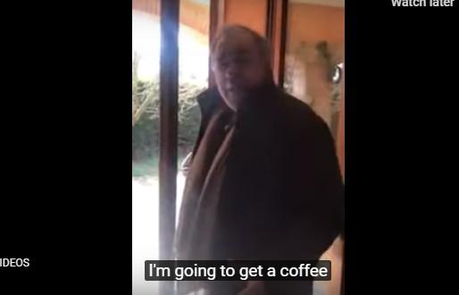 ВИДЕО: И во време на корона Италијанецот мора да оди на кафе