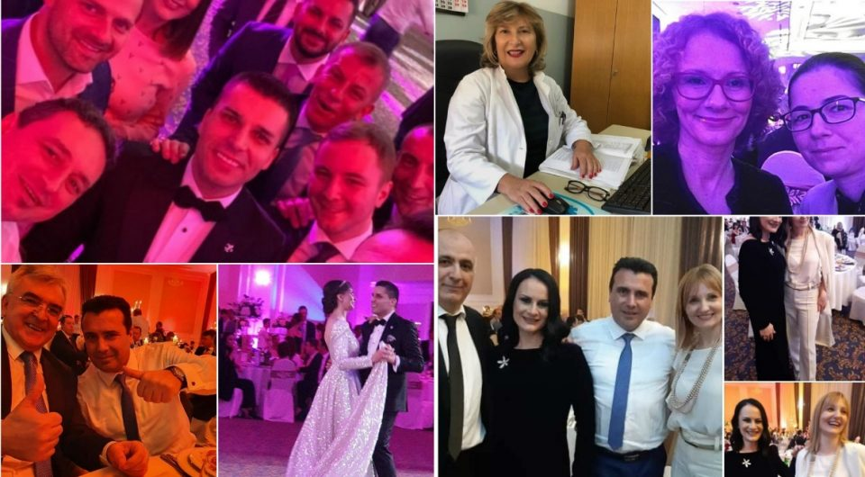 Дали директорката која има коронавирус била на свадба кај Љупчо Николовски?!