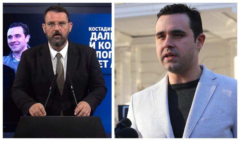 Стоилковски до Костадинов: Што продавате сега од идентитетот?