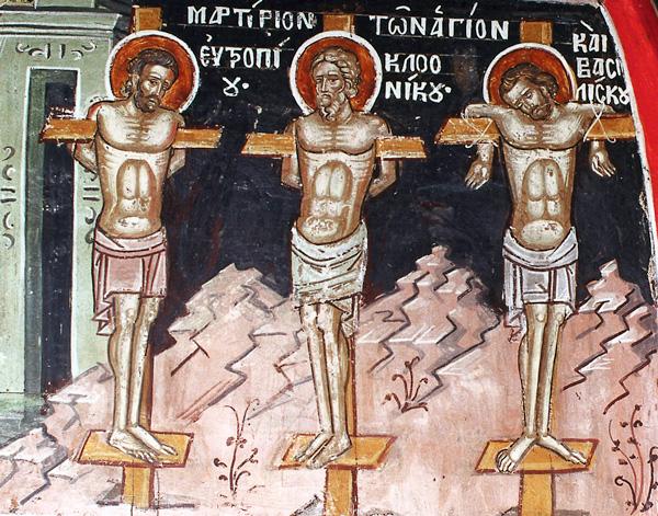 ОД КАЛЕНДАРОТ НА МПЦ: Денеска е Св. маченици Евтропиј, Клеоник и Василиск