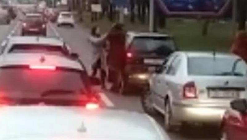 ХИТ ВИДЕО: Женска тепачка среде Загреб, сообраќајот во прекин