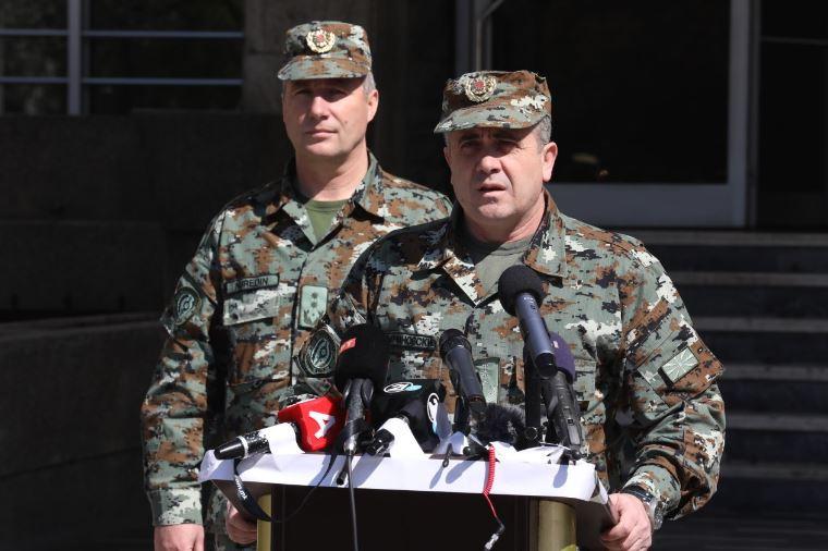 Ѓурчиновски: Од утре значително присуство на Армијата во обезбедување на сите државни граници