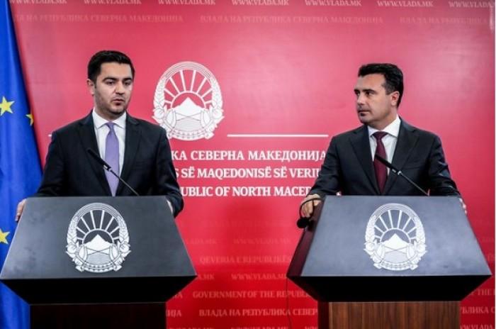 Бектеши контра Заев: ДУИ против намалување плати во администрацијата