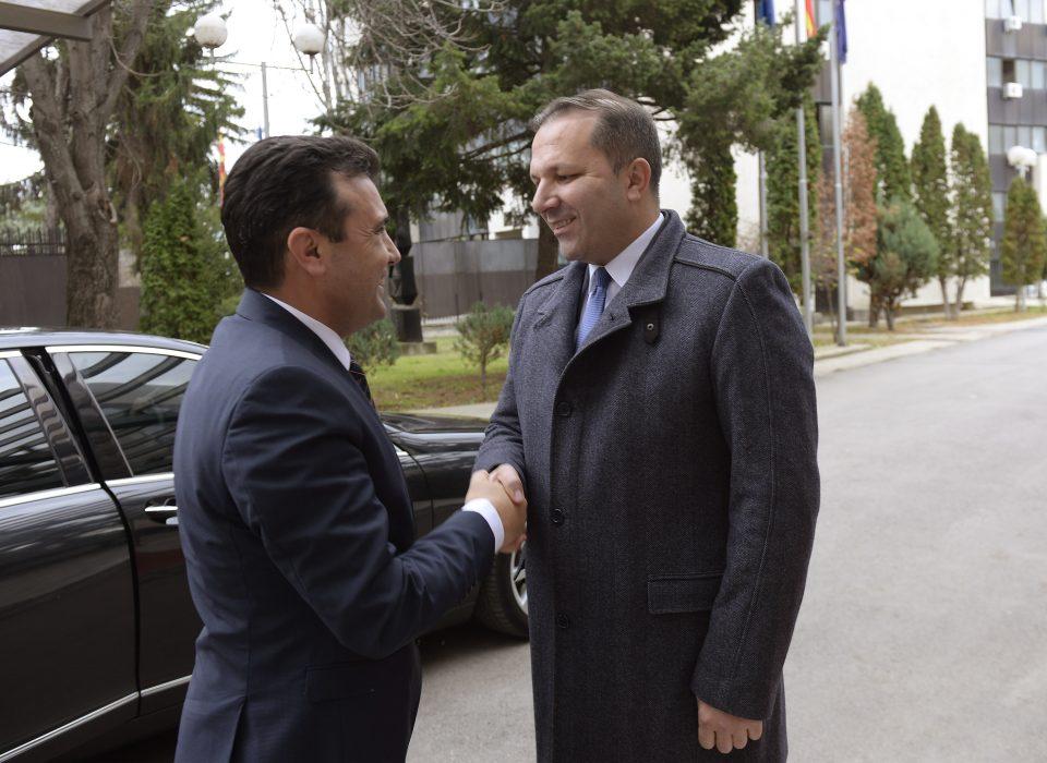 Приведениот полициски функционер близок пријател на Заев и Спасовски